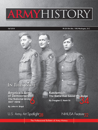 U S Army Center of Military History - Army History Magazine