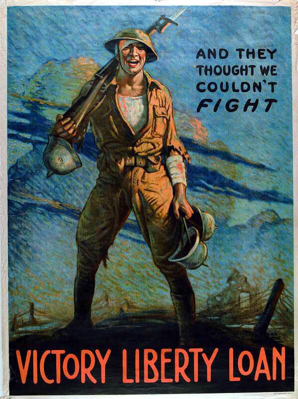 World War I Era Posters Gallery Exhibit   Center of ...
