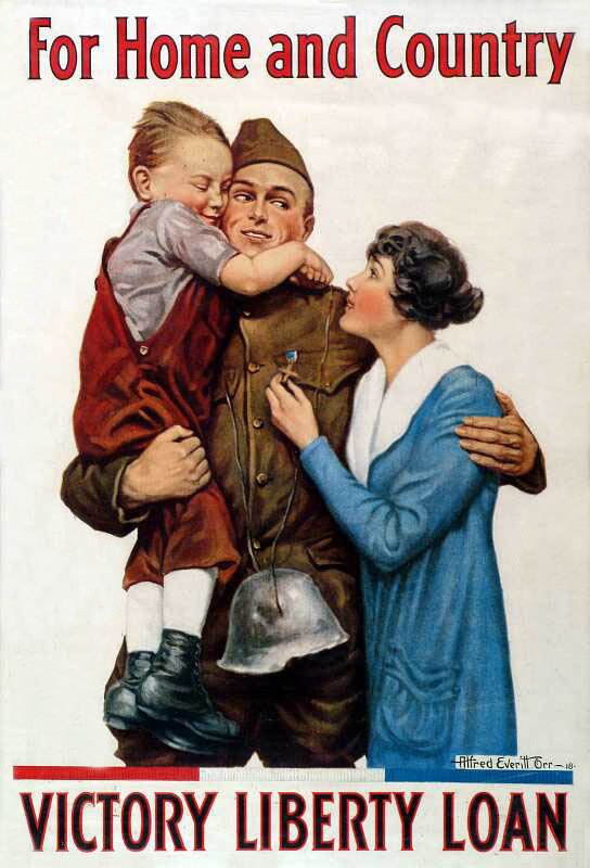 world war i era posters gallery exhibit center of military history