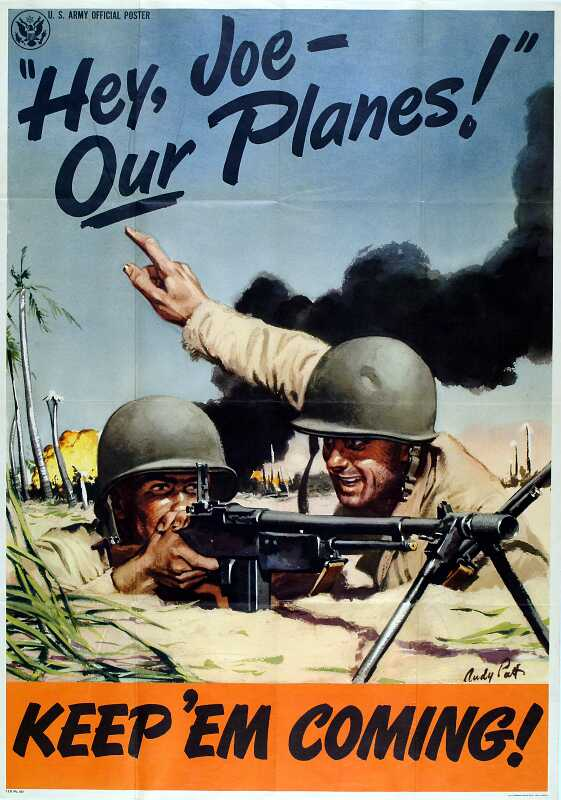 World War II Era Posters Gallery Exhibit | Center of Military History
