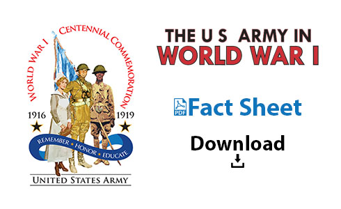 U.S. Army in WWI Fact Sheet