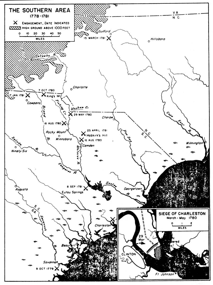 worksheet Revolutionary War Map Worksheet lesson 2 the war in south edsitement selected websites
