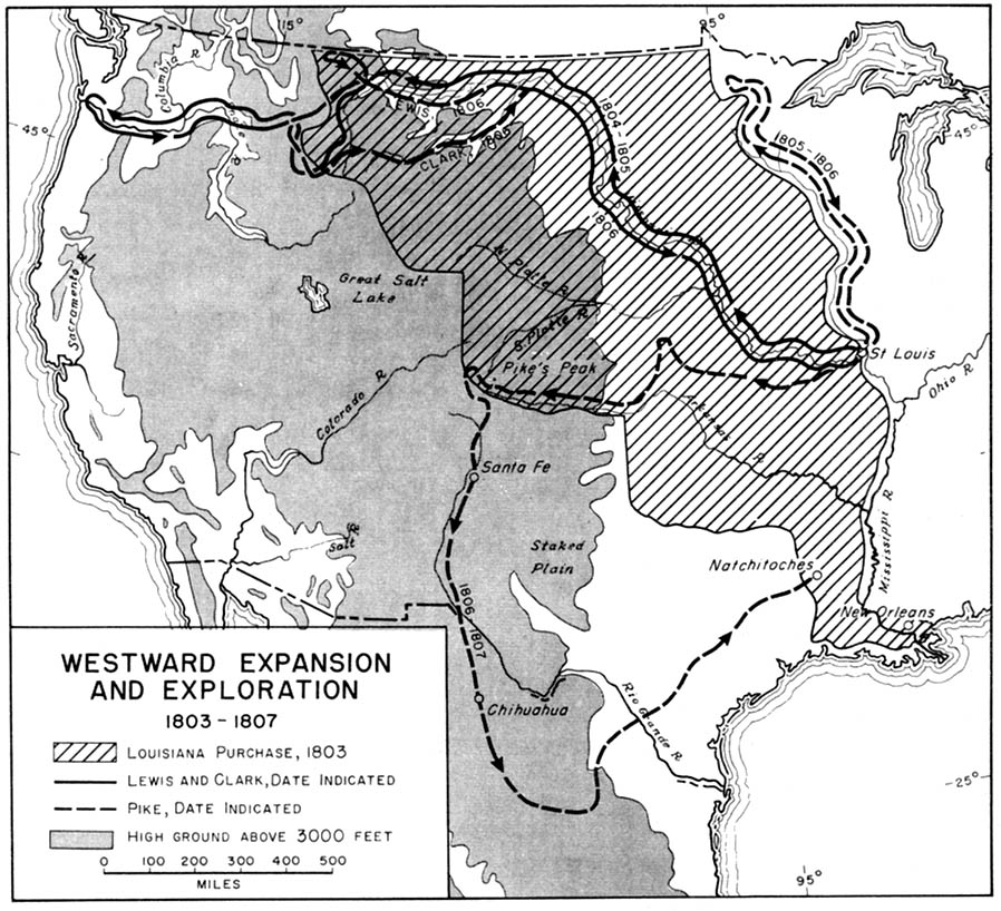 Map 14 Westward Expansion And Exploration