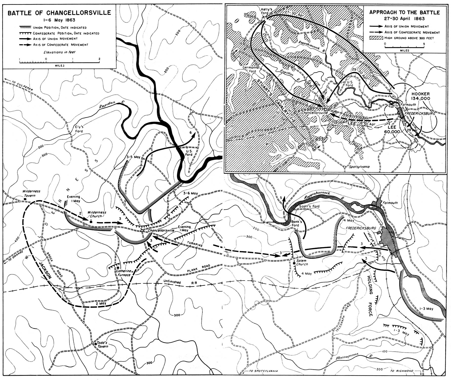 chapter 11 the civil war 1863 Professional Resume map 30 battle of chancellorsville 1 6 may 1863