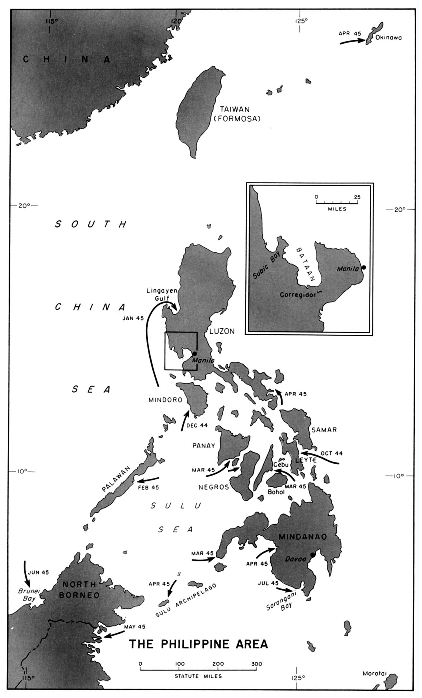 Map 44 The Philippine Area