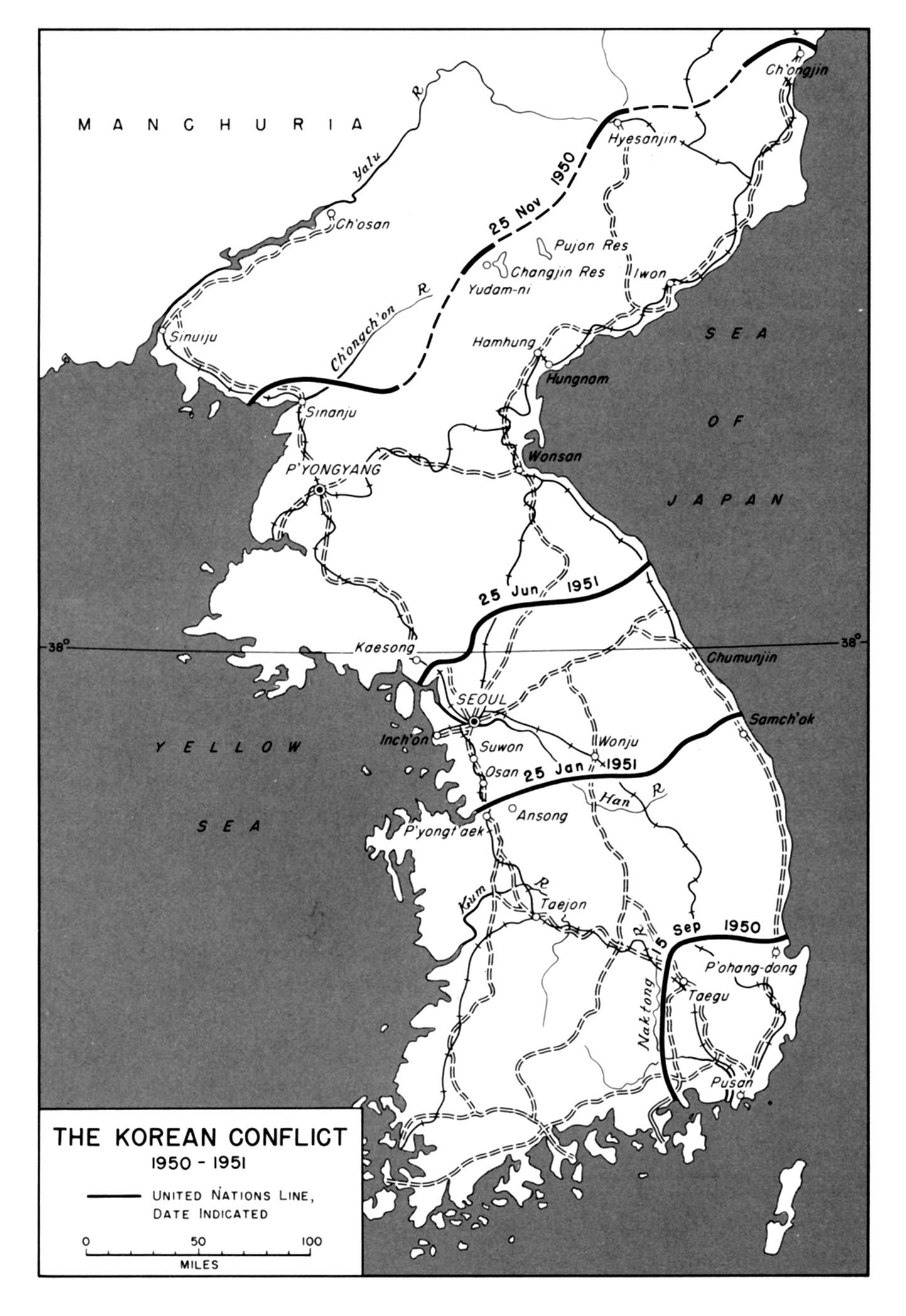 Worksheets Korean War Worksheet chapter 25 map 45 the korean conflict 1950 1951