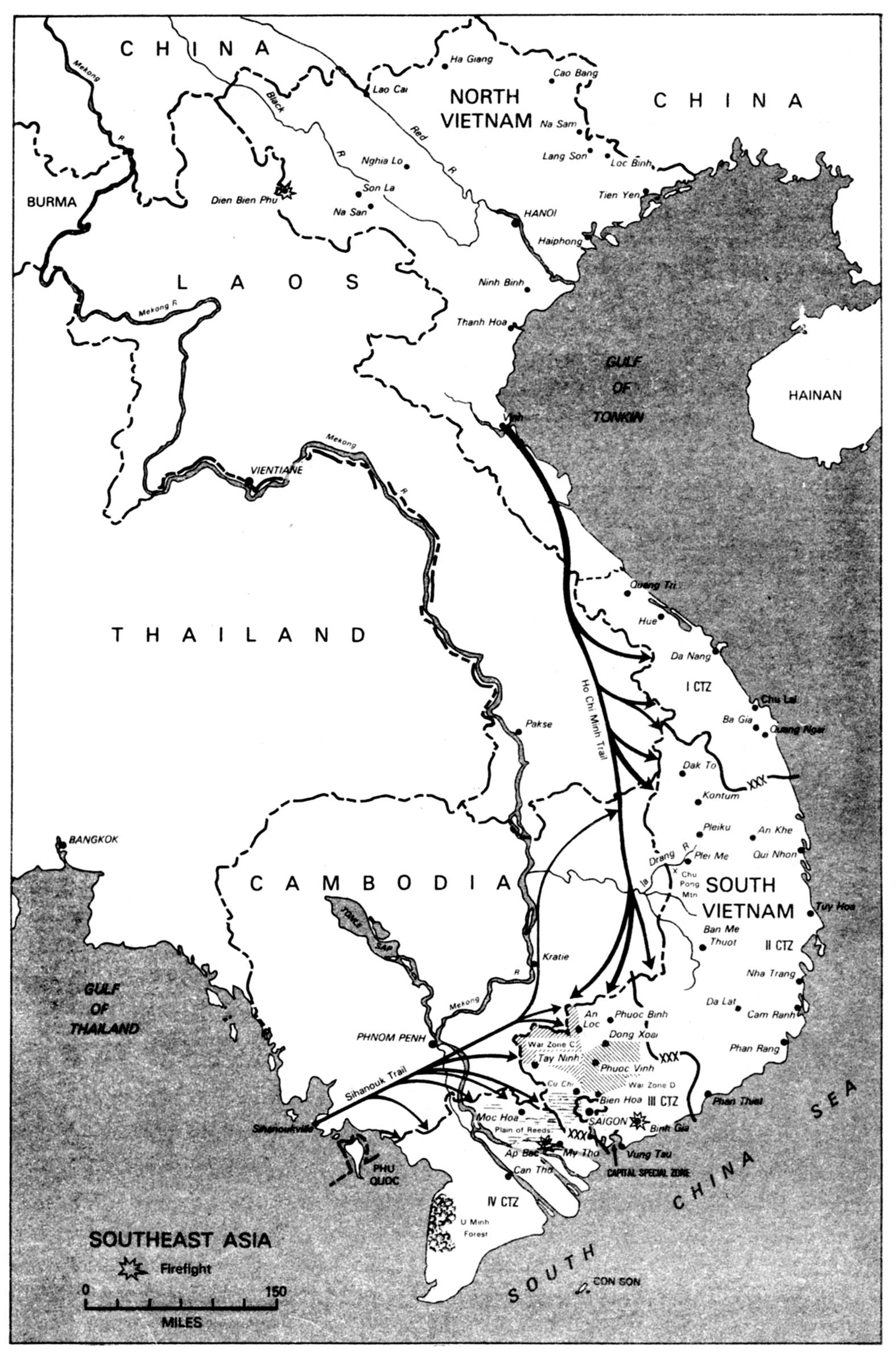 CHAPTER The US Army In Vietnam - River maps of southeast us