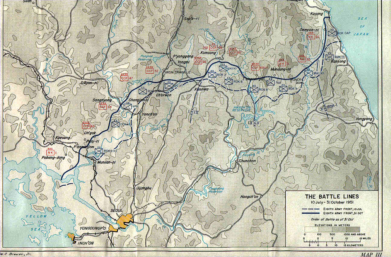 KOREAN WAR MAPS  US Army Center of Military History