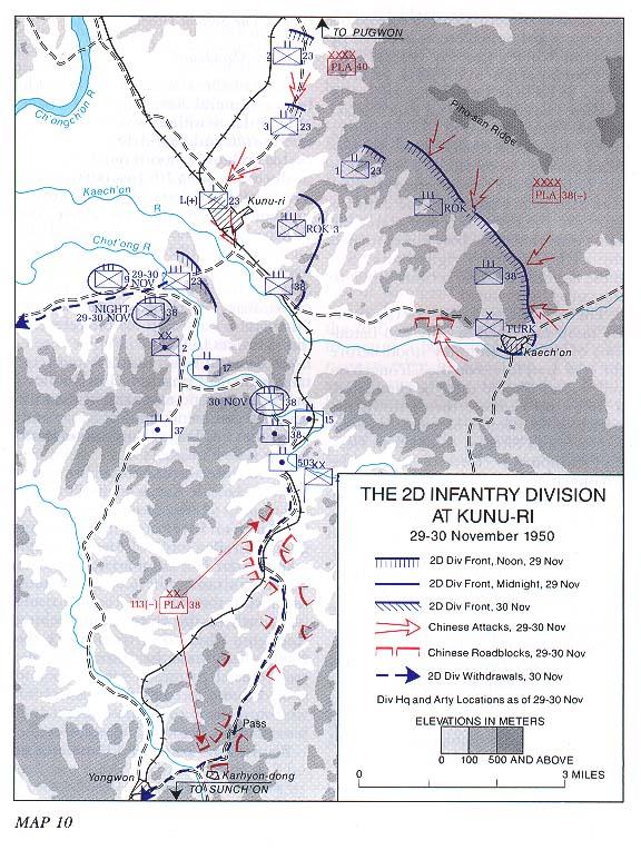 The 2d Infantry Division At Kunu Ri 29 30 November 1950