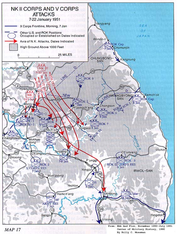 Worksheet. KOREAN WAR MAPS  US Army Center of Military History