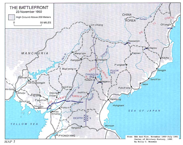 Korean War Maps Us Army Center Of Military History - 38th-parallel-us-map