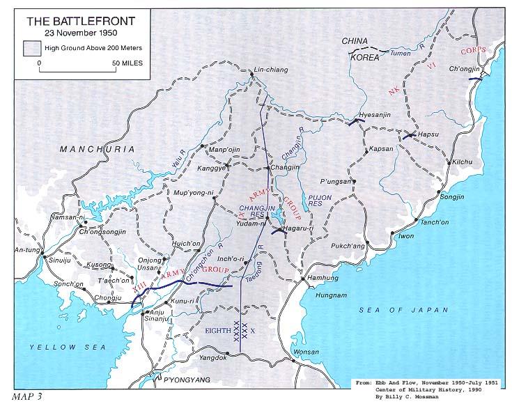 KOREAN WAR MAPS - U.S. Army Center of Military History