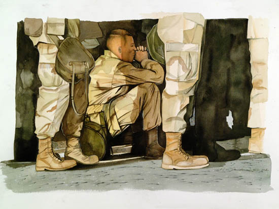 Army Artists Look at the War on Terrorism