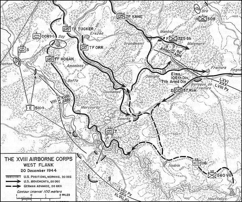 chapter 15 the ardennes battle of the bulge 104th Division WW2 map 3