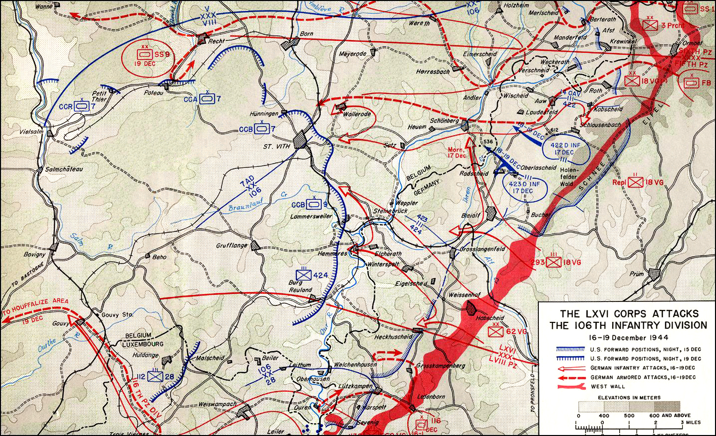 THE ARDENNES: BATTLE OF THE BULGE (Contents)