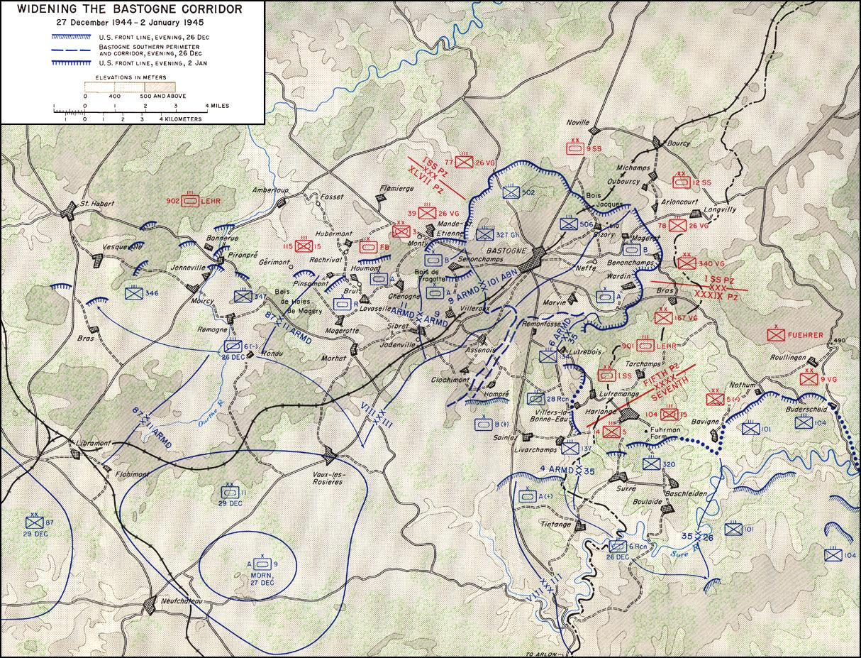 THE ARDENNES BATTLE OF THE BULGE Contents - Germany map ww2