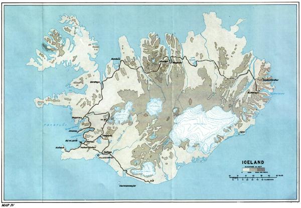 Chapter XIX: Establishing the Iceland Base Command