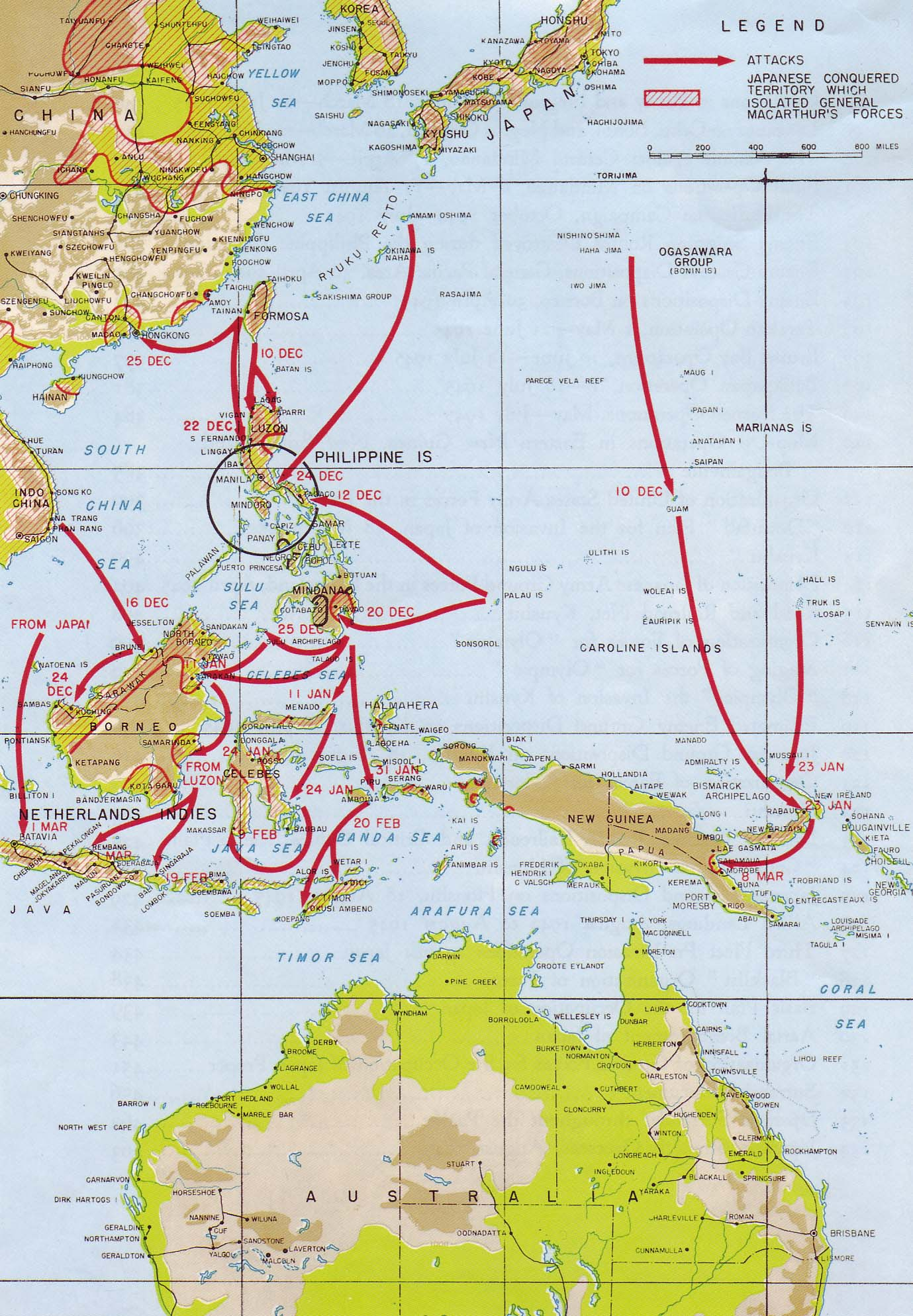Chapter 1 the japanese offensive in the pacific 1 the japanese conquests which isolated general macarthurs forces in the philippines gumiabroncs Image collections