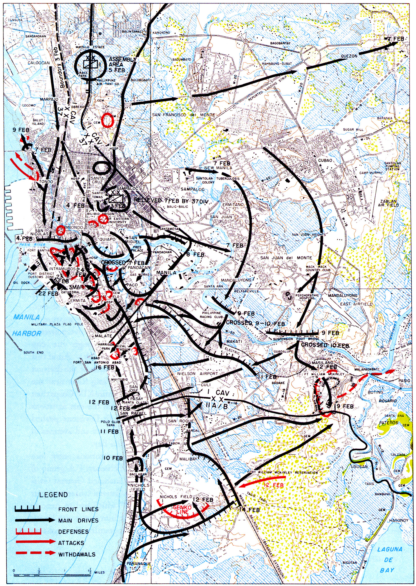 Chapter 9: The Mindoro and Luzon Operations