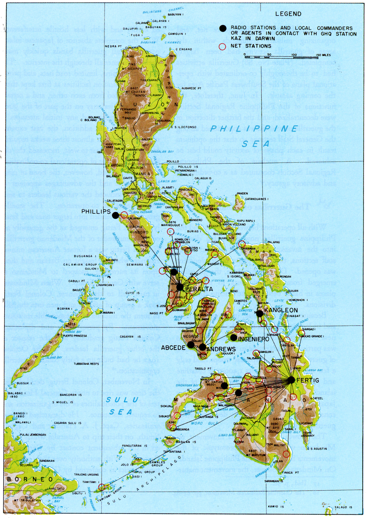 87, Philippine Islands Communications, 15 December 1943