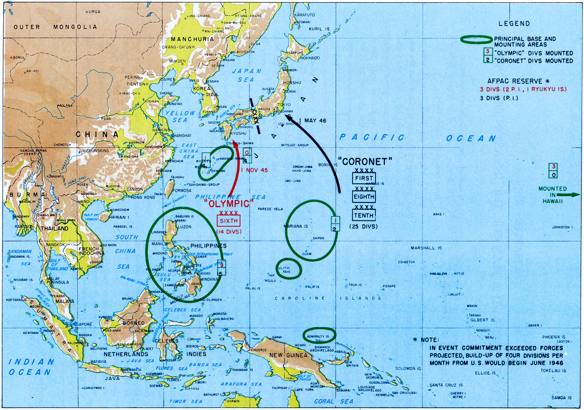 "Afpac pour chapter 13: ""downfall""- the plan for the invasion of japan"