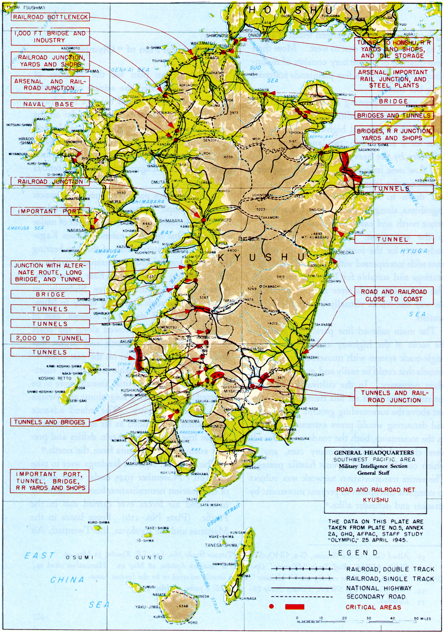 Chapter DOWNFALL The Plan For The Invasion Of Japan - Japan map road