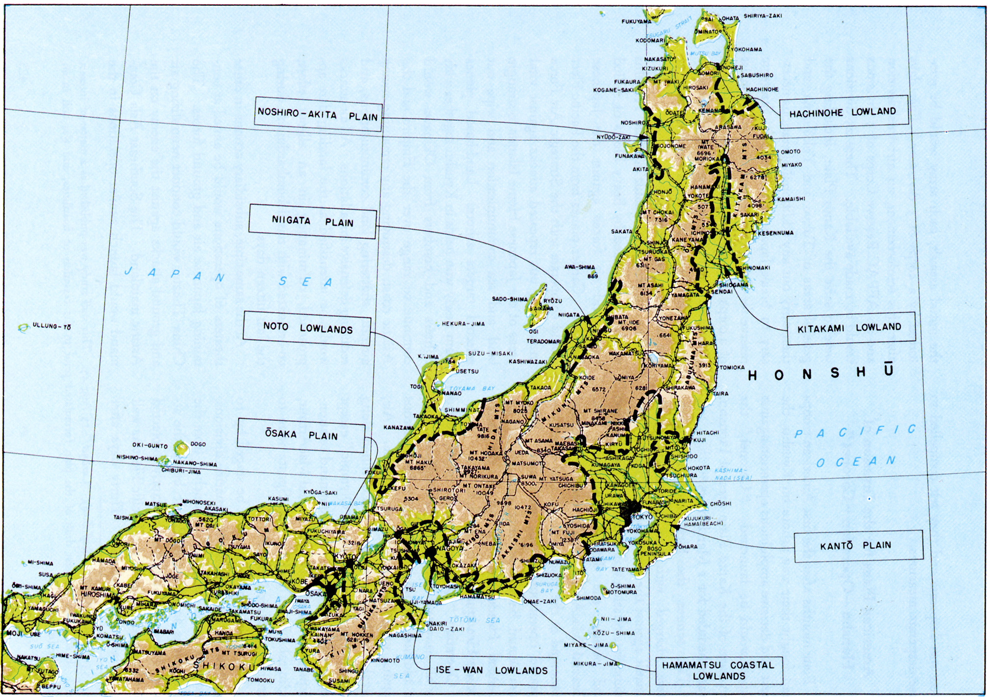 Chapter DOWNFALL The Plan For The Invasion Of Japan - Japan map honshu