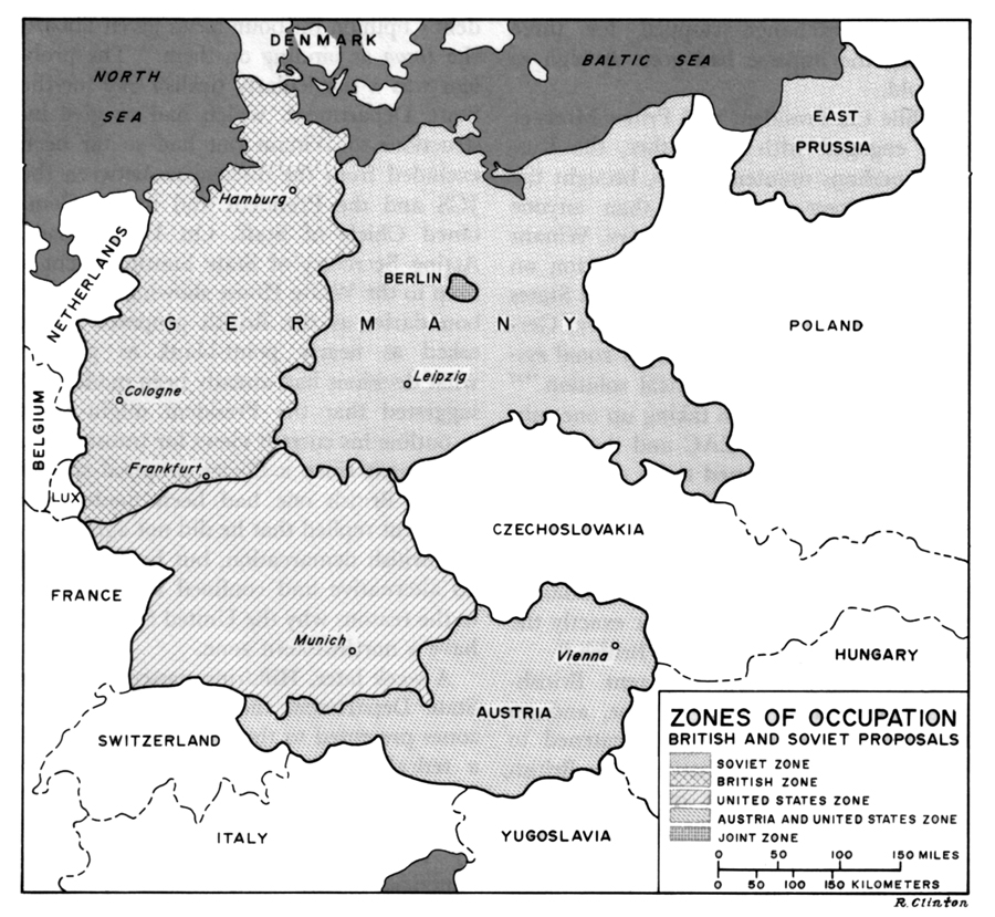 Chapter IX Tripartite Agreements - Germany map zones