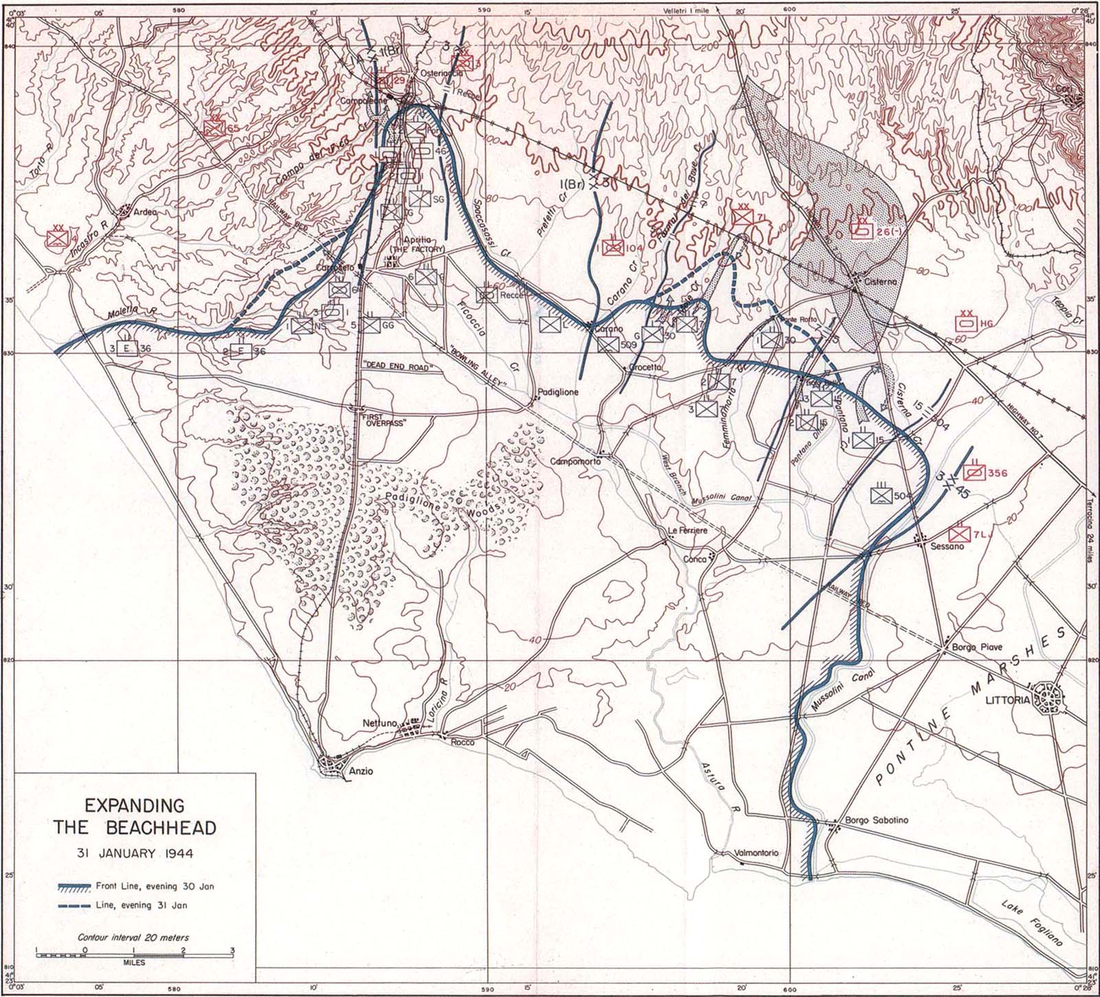 Anzio Beachhead The Allied Offensive 30 January1 February