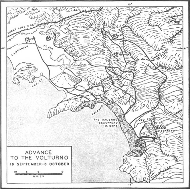 Salerno Pursuing The Enemy15 September 6 October