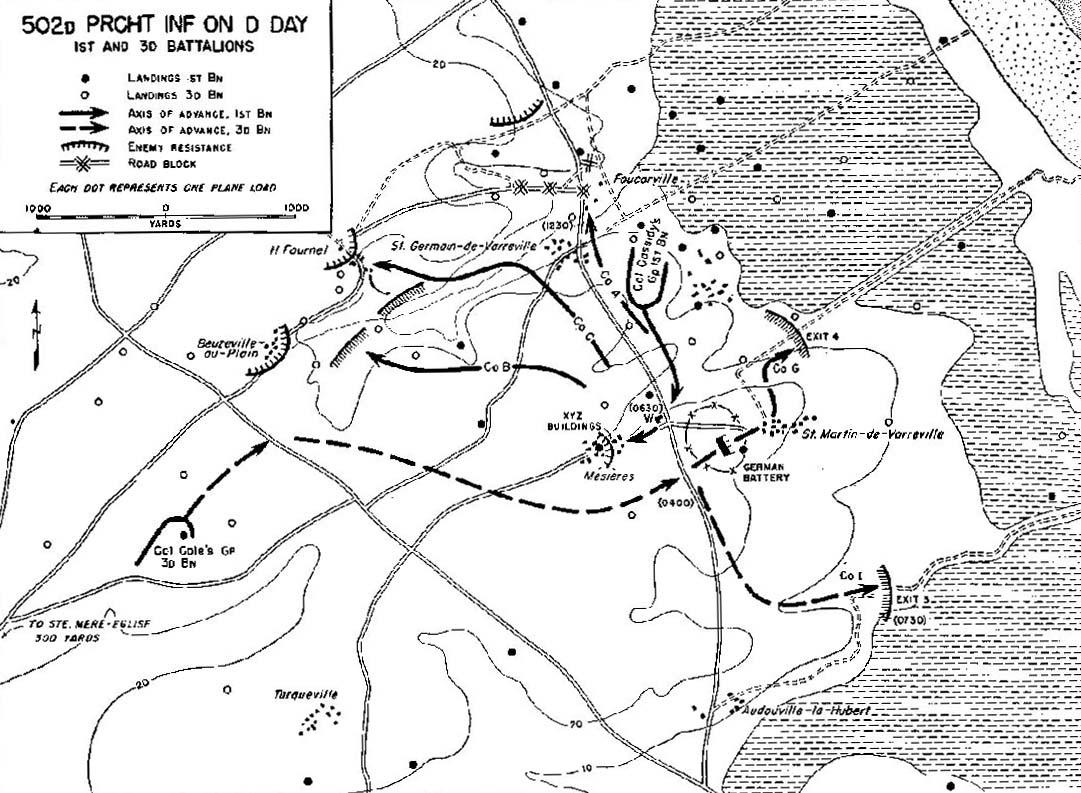 The Airborne Assault Utah Beach To Cherbourg
