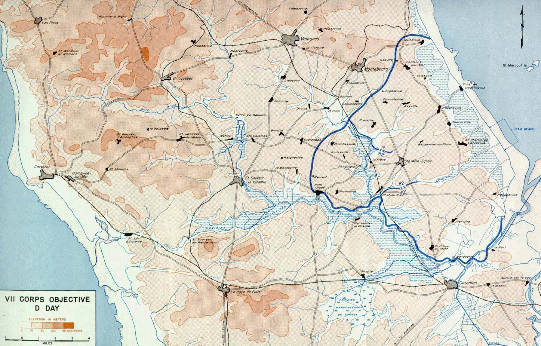 vii corps objective d day
