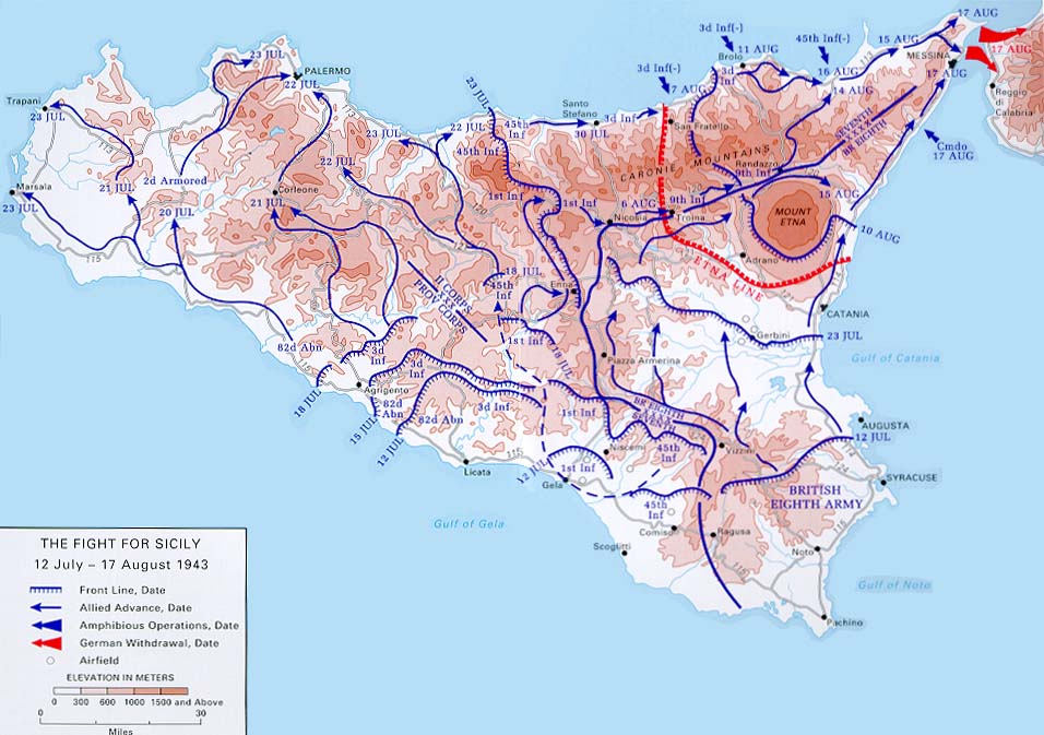 WWII Campaigns Sicily