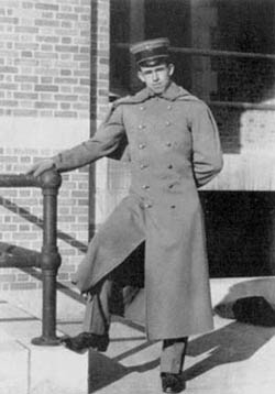 Bradley during his second year at West Point.