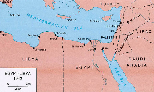 Middle East Map Before Wwii.Links To World War Ii Maps By History Link 101