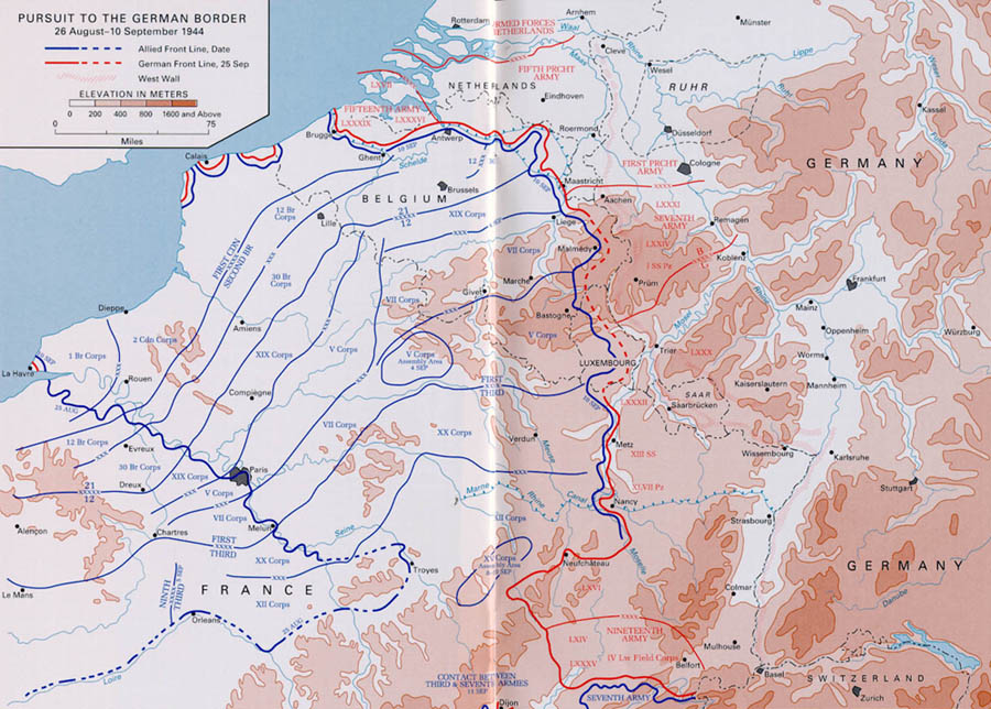 Map Of Northern France Belgium.Northern France