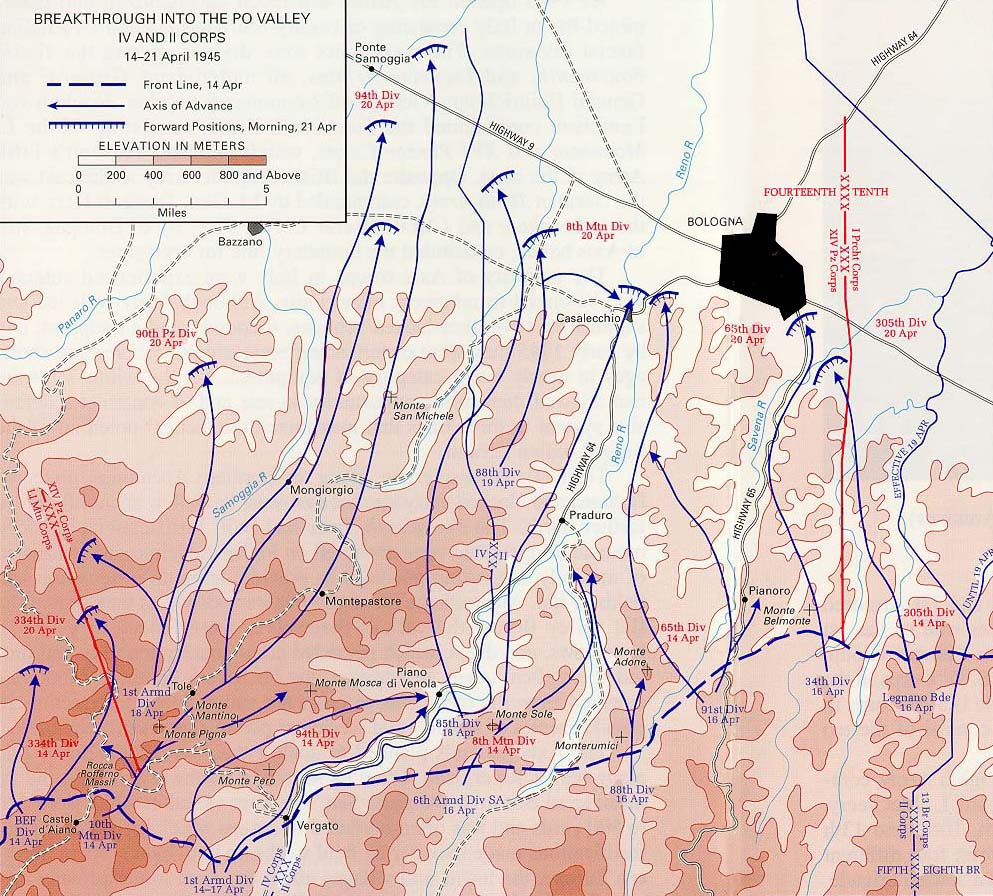 Valley 1945 map breakthrough into the po valley gumiabroncs Image collections