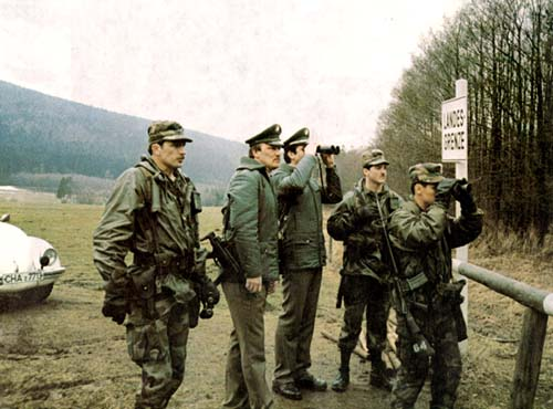 Border Patrol Dog Training