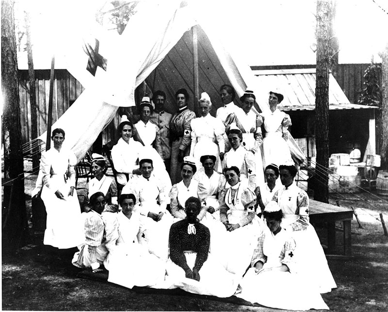 The Army Nurse Corps In The War With Spain Center Of
