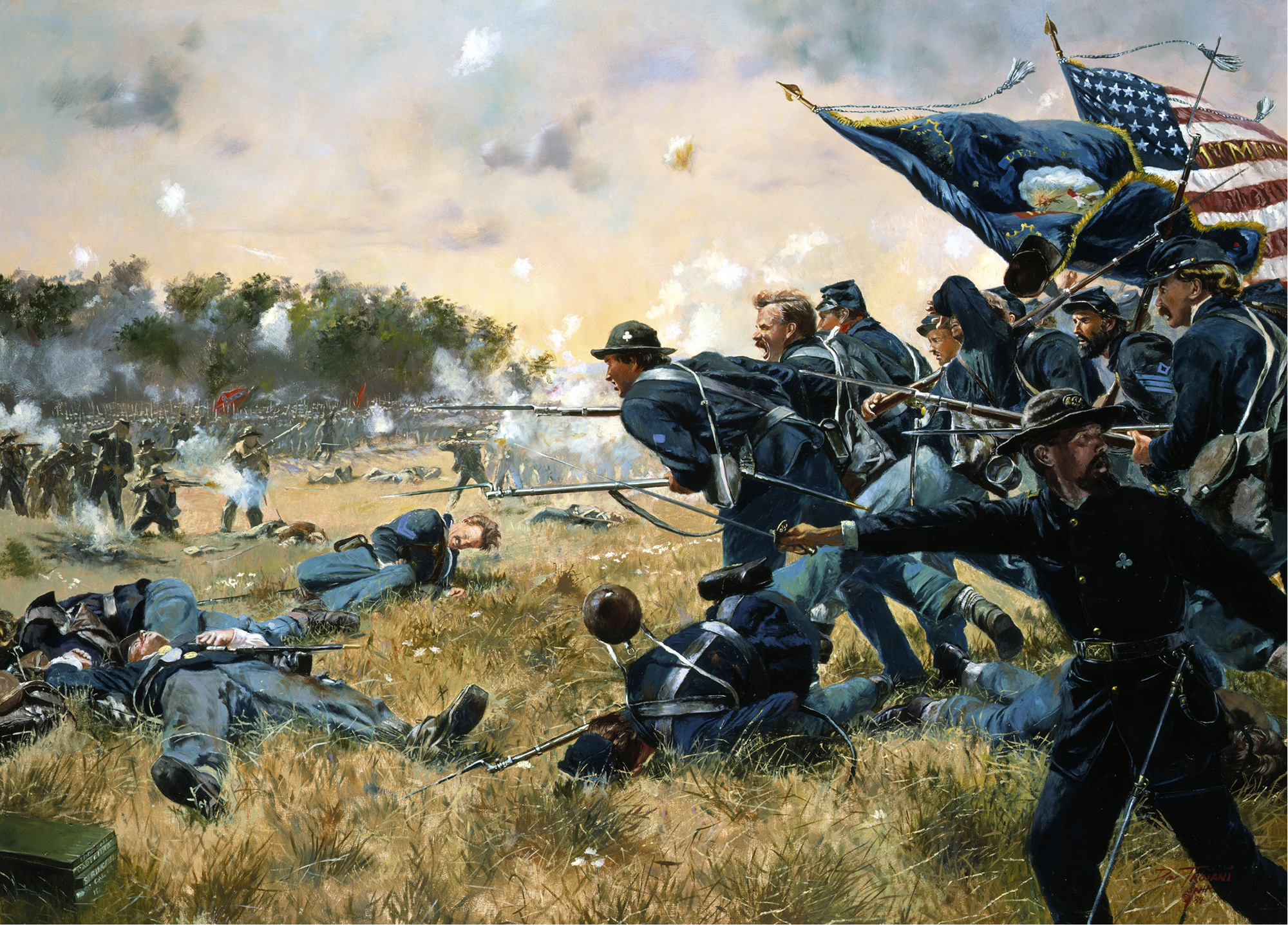 the cost of war in relation to the battle of gettysburg during the civil war in united states Civil war times editor dana shoaf shares the story of how battery h of the 3rd  pennsylvania heavy artillery found itself in  america's civil war magazine .