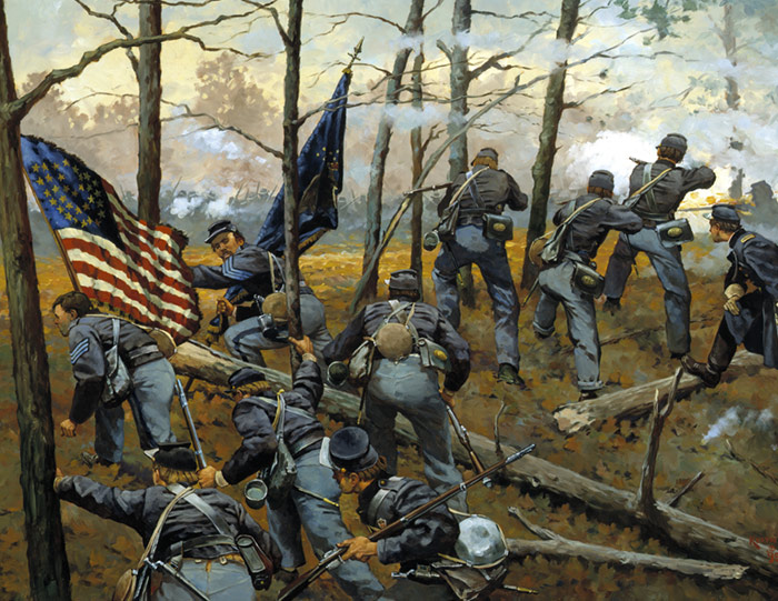 Civil War Art From Cmh Prints And Posters Sets Civil War