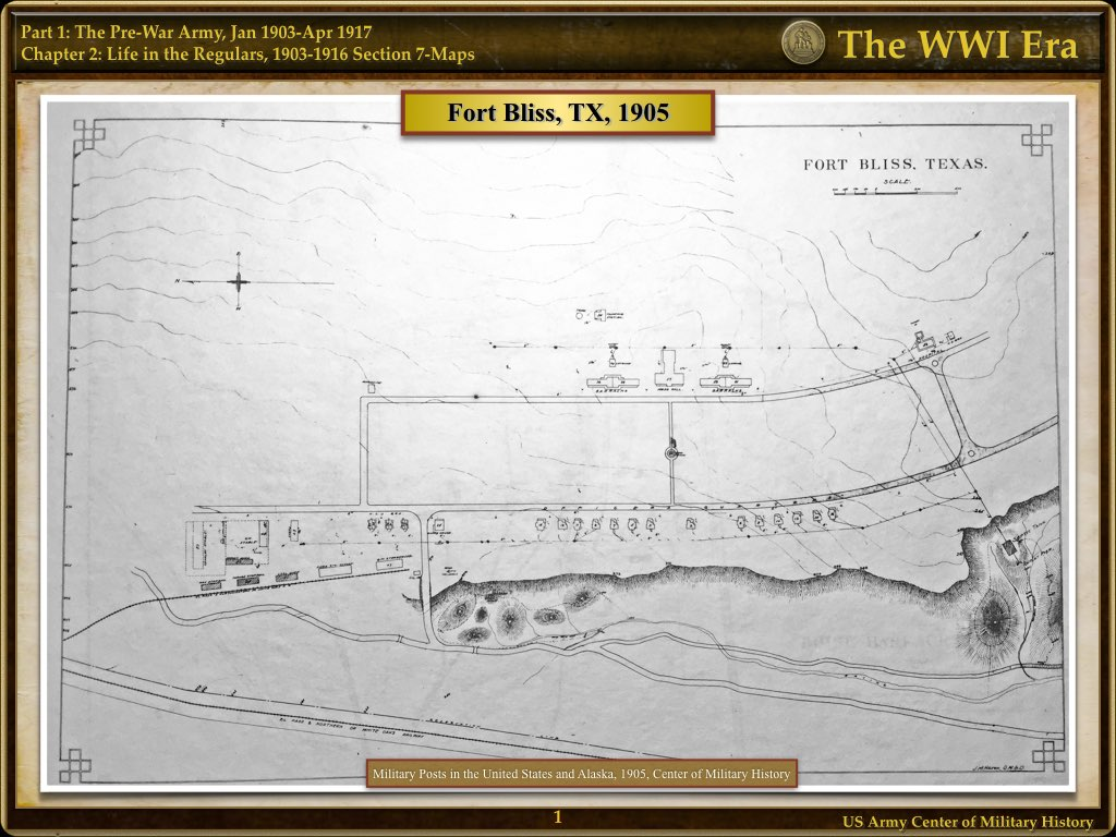 Maps and Overlays - The WWI Era - U.S. Army Center of Military History