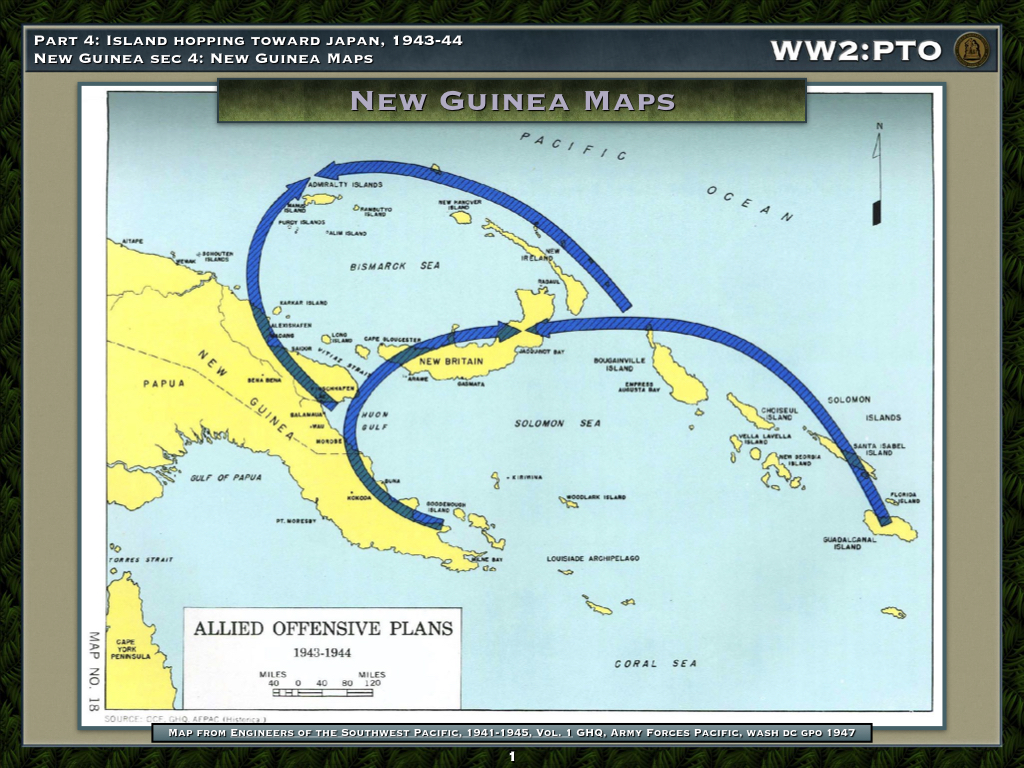 New Guinea Maps - Asia-Pacific Theater of Operations - The ...