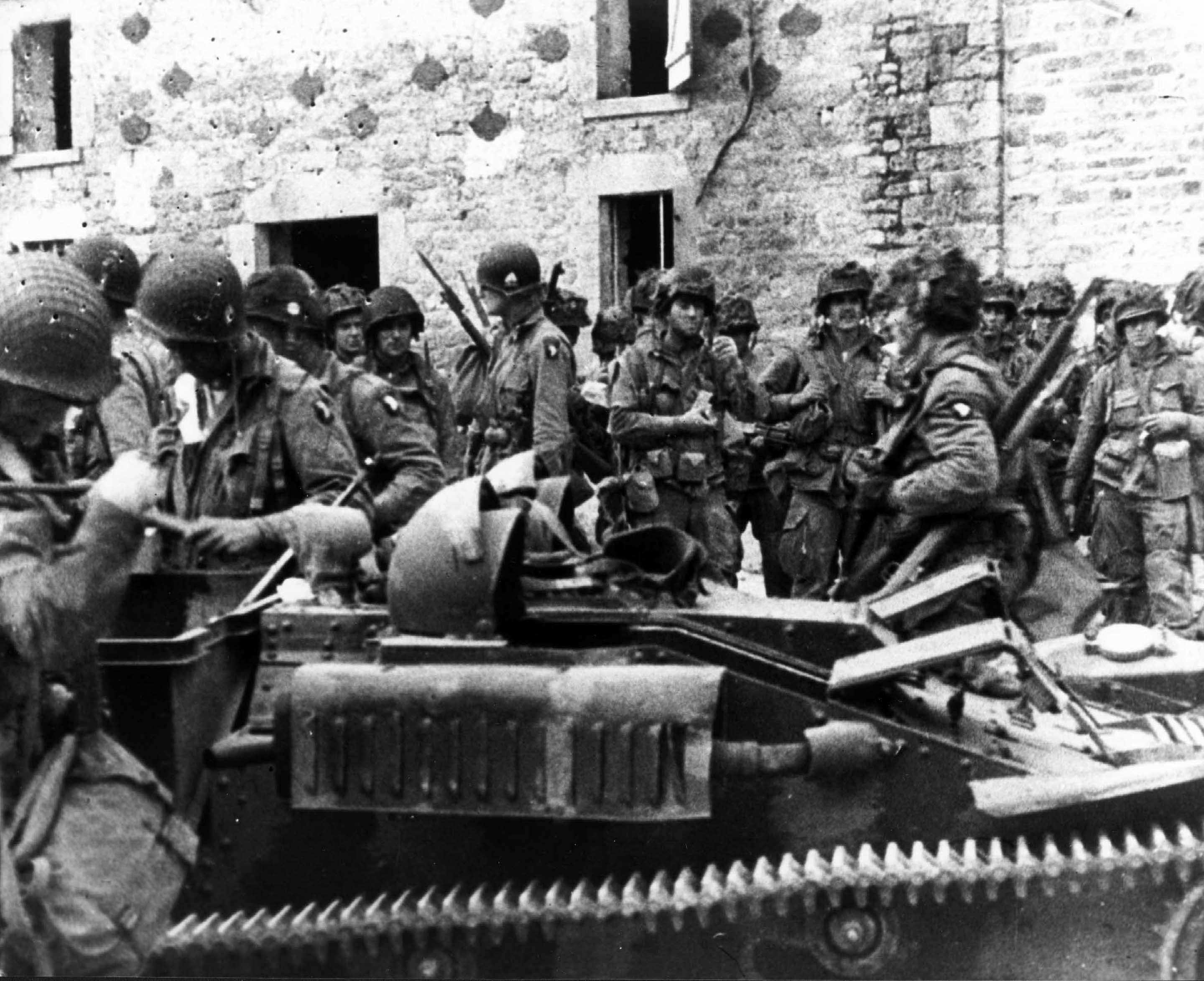 D Day Invasion Paratroopers The Normandy Invasion:...