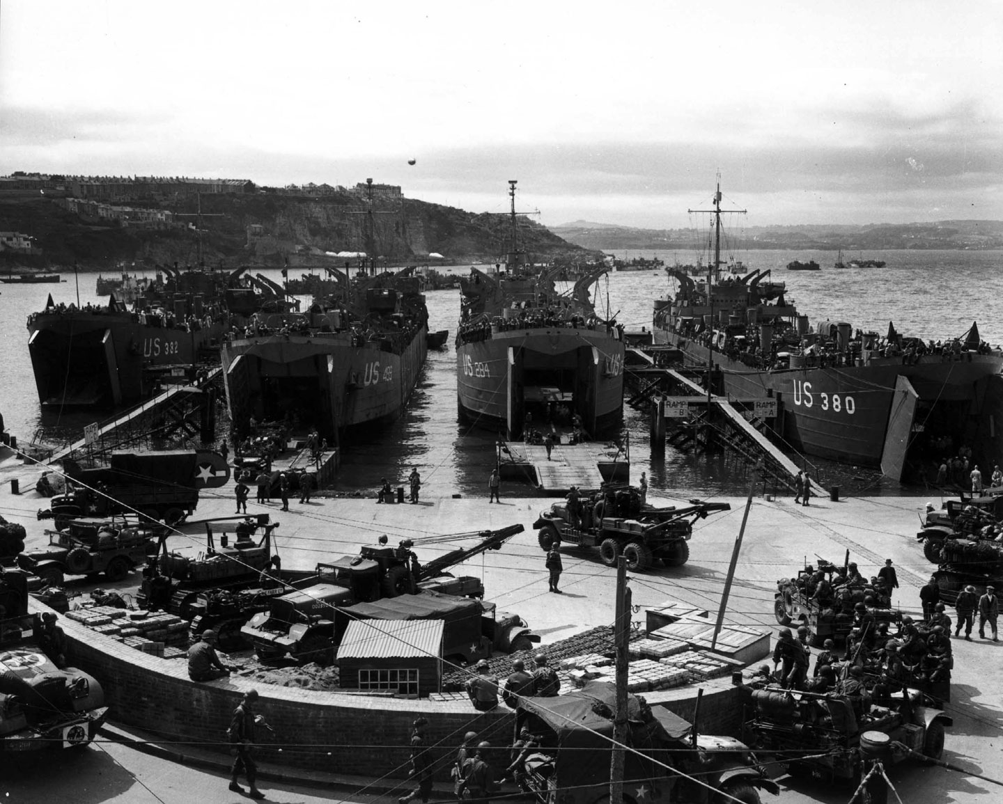 Photo, In preparation for the