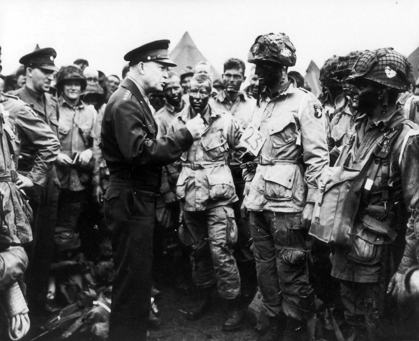 Photo, Gen Dwight D 