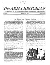 Army History Issue 02, Winter 1984