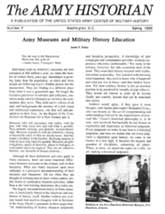 Army History Issue 07, Spring 1985