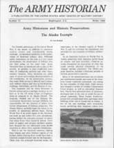 Army History Issue 10, Winter 1986
