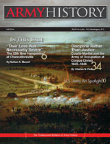Army History, Issue 101, Fall 2016
